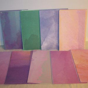 """4""""x6"""" Notecards Set of 54 - Watercolor 2"""